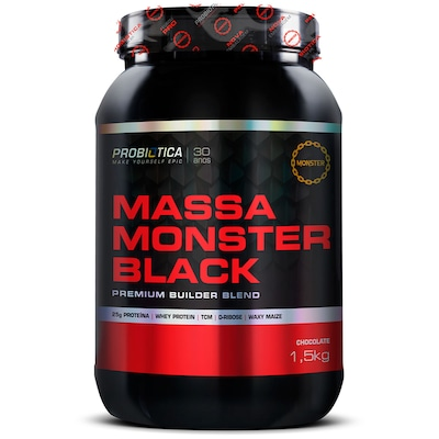 Blend Probiótica Massa Monster Black - Chocolate - 1,5Kg
