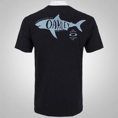 Camiseta Oakley Shark Attack - Masculina