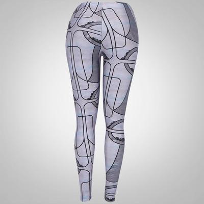 Calça Legging Lauf Basic Estampada - Feminina