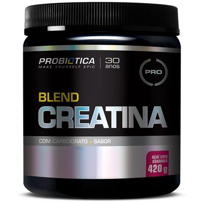 Creatina Probiótica Blend - Açaí com Guaraná - 420g