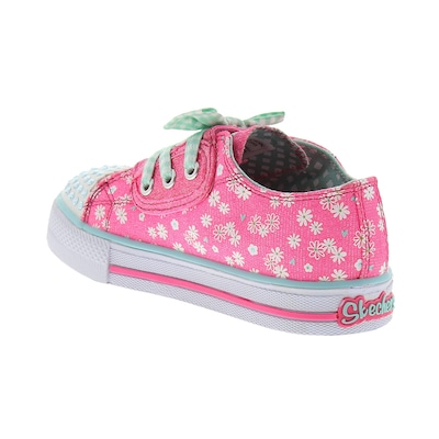 Tênis Skechers Daisy Dotty BB Feminino - Infantil