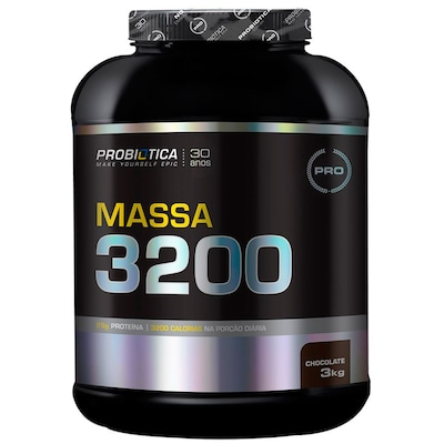 Hipercalórico Probiótica Massa 3200 - Chocolate - 3Kg