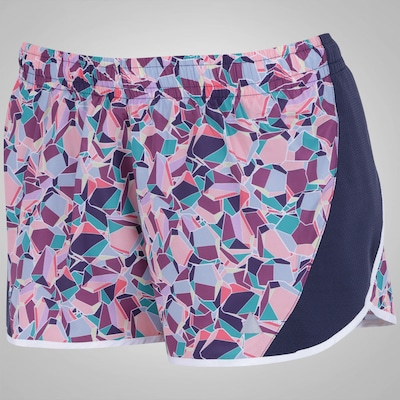 Shorts Lauf New Estampado - Feminino