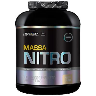 Hipercalórico Probiótica Massa Nitro - Baunilha - 3Kg