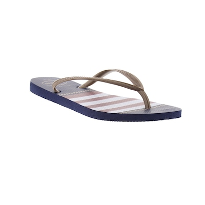 Chinelo Havaianas Slim Nautical 17 - Feminino