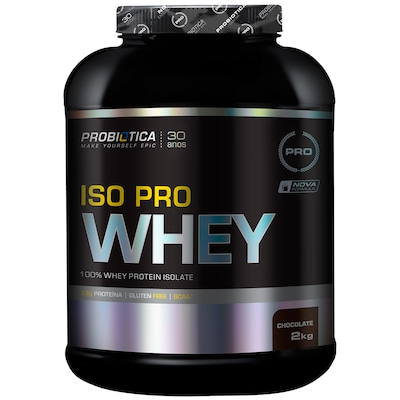 Proteina Probiotic Iso Pro Whey 2Kg Choc