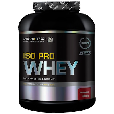 Protein Probiotic Iso Pro Whey 2Kg Moran