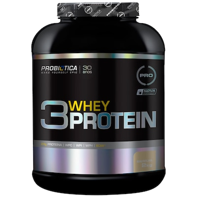 Proteina Probiotica 3 Whey 2Kg Baunilha