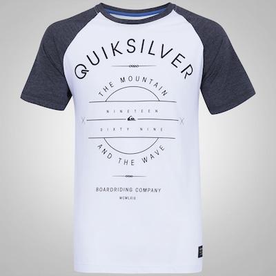 Camiseta Quiksilver Raglan Arte - Masculina