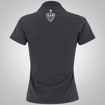 Camisa Polo do Atlético Mineiro Braziline - Feminina