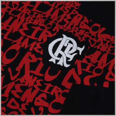 Camiseta do Flamengo Braziline Cristo Redentor - Masculina