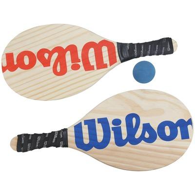 Kit de Frescobol Wilson com 2 Raquetes + Bola