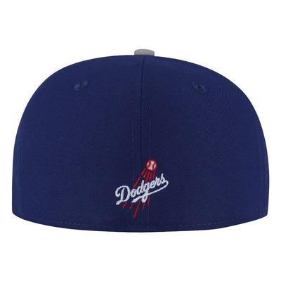 Boné Aba Reta New Era MLB Los Angeles Dodgers - Fechado - Adulto