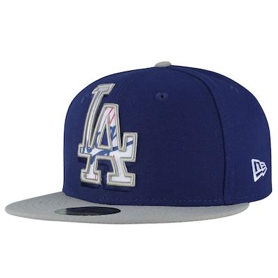 Boné Aba Reta New Era Los Angeles Dodgers - Fechado - Adulto