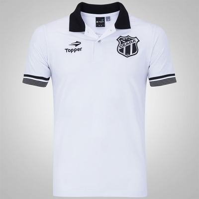 Camisa Polo do Ceará Viagem 2016 CT Topper - Masculina