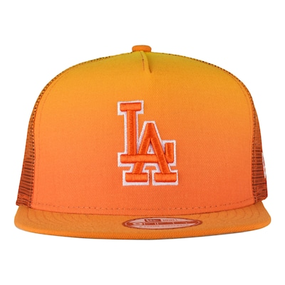 Boné Aba Reta New Era Los Angeles Dodgers - Strapback - Trucker - Adulto