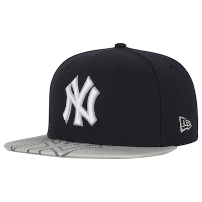 Boné Aba Reta New Era New York Yankees Double - Fechado - Adulto