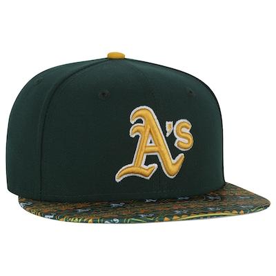 Boné Aba Reta New Era Oakland Athletics - Fechado - Adulto