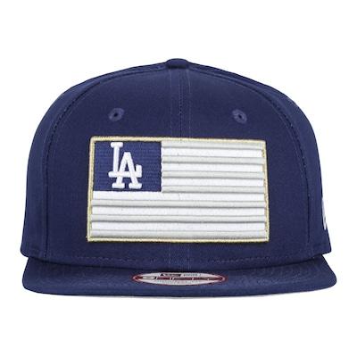 Boné Aba Reta New Era Los Angeles Dodgers Of Sn Flag - Snapback - Adulto