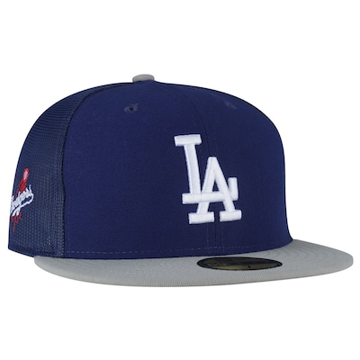 Boné Aba Reta New Era Los Angeles Dodgers - Fechado - Trucker - Adulto