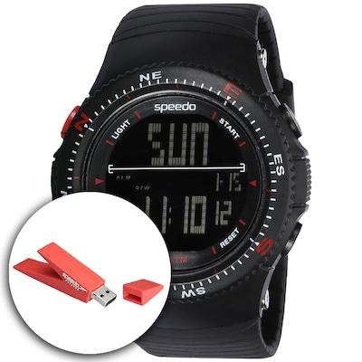 Relógio Digital Speedo 81087G0 com Pen Drive - Masculino