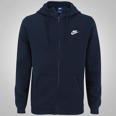 Jaqueta de Moletom com Capuz Nike Hoodie FZ FLC Club - Masculina