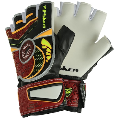 Luvas de Goleiro Futsal Poker Deep VI Training - Adulto
