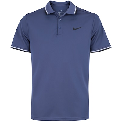 40fac8f1b Shopping Smiles - Camisa Polo Nike Court Dry Solid - Masculina