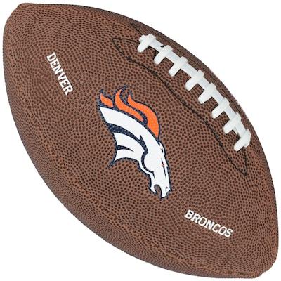 Bola de Futebol Americano Wilson Denver Broncos Team Logo