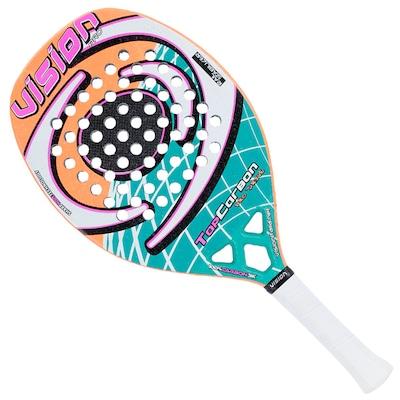 Raquete de Tênis de Praia Vision Top Carbon New - Adulto