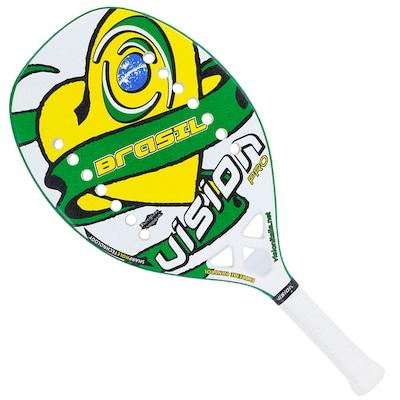 Raquete de Tênis de Praia Vision Brasil - Adulto