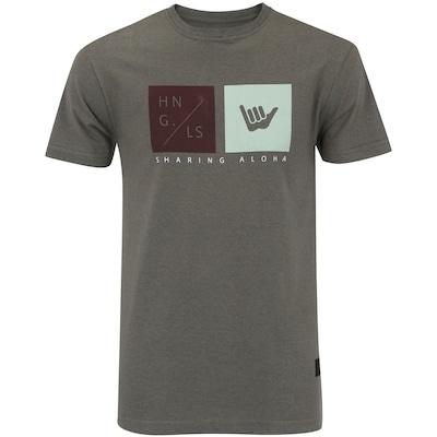 Camiseta Hang Loose Silk Logoquart - Masculina 958d40d541f
