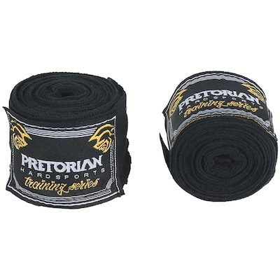 Kit de Boxe Pretorian: Bandagem + Protetor Bucal + Luvas de Boxe Training - 14 OZ - Adulto