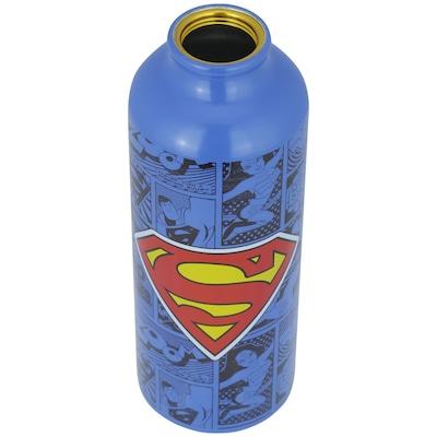 Squeeze de Alumínio Liga da Justiça Superman - 500ml