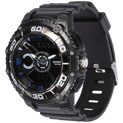 Relógio Digital Analógico Speedo 81090G0 com Carregador Portátil - Masculino