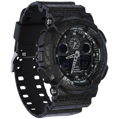 Relógio Digital Analógico Casio G-Shock GA-100CG - Masculino