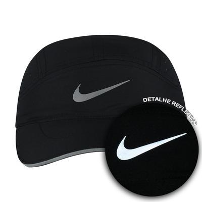 Boné Aba Curva Nike Aerobill TW Elite - Strapback - 5 Panel - Adulto