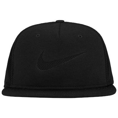 Boné Aba Reta Nike Sportwear True Blue - Snapback - Trucker - Adulto