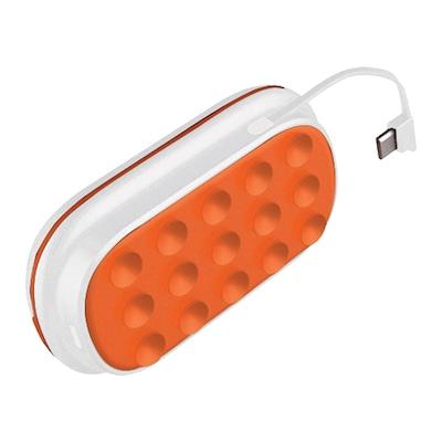 Caixa de Som Flex Box com Bluetooth e Carregador Portátil Power Bank Easy Mobile