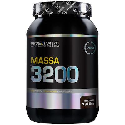 Hipercalórico Probiótica Massa 3200 - Chocolate - 1,68Kg
