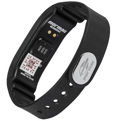 Pulseira Inteligente Fitness com Monitor Cardíaco Mormaii Tech