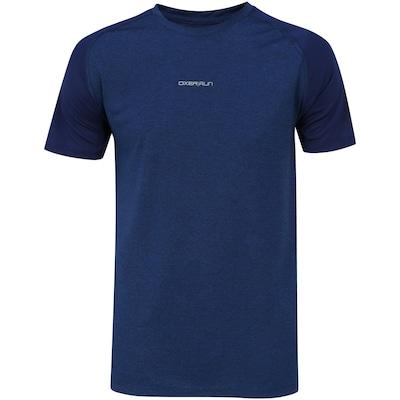 Camiseta Oxer Básica Mescla Raglan - Masculina