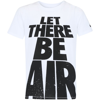 Camiseta Nike Sportswear Let There Be Air - Infantil