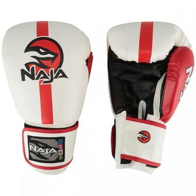 Kit de Boxe Naja: Bandagem + Protetor Bucal + Luvas de Boxe Classic - 16 OZ - Adulto