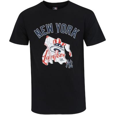 50e1ac483 22%OFF Camiseta New Era New York Yankees City Team - Masculina