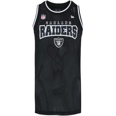 0d17161843 35%OFF Camiseta Regata New Era Oakland Raiders Vein - Masculina