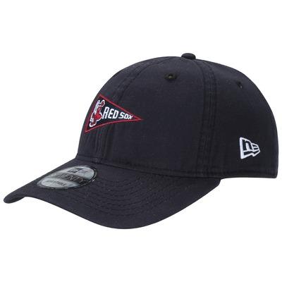 Boné Aba Curva New Era 940 Boston Red Sox Micro Logo - Strapback - Dad Hat -...
