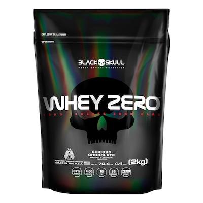 Whey Protein Isolado Black Skull - Whey Zero - Chocolate - 2kg