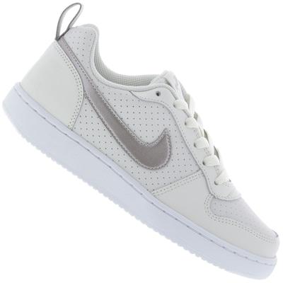 Tênis Nike Court Borough Low Feminino - Infantil