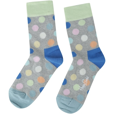 Kit de Meias Happy Socks Stripe com 2 Pares - Infantil